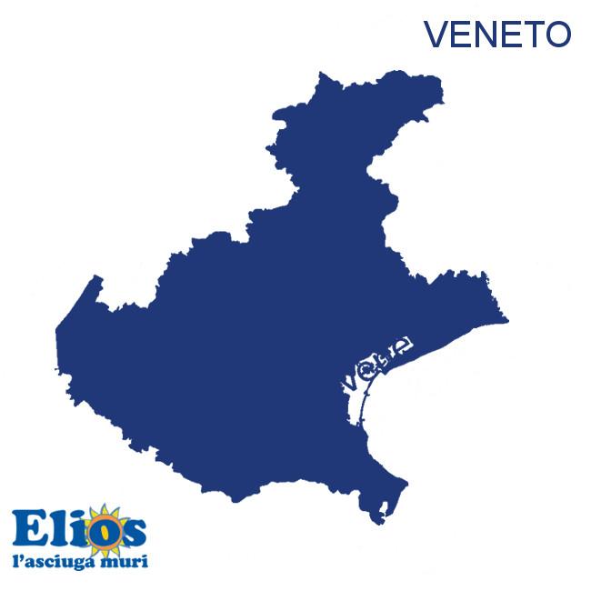 Elettrosmosi umidità di risalita in Veneto